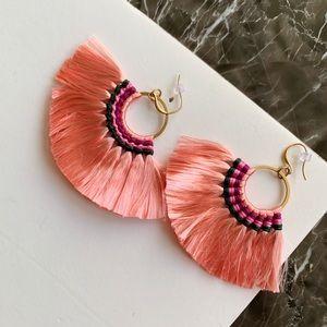 New Tassel Pink Boho Earrings